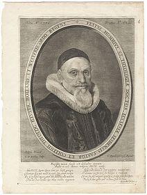 FESTUS HOMMIUS (1576-1642). Portrait-Kupferstich, um 1650 //Buch- und Kunst-Antiquariat Joseph Steutzger // www.steutzger.info