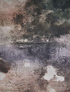 """Rupert Rosenkranz (1908 Aichdorf/Österreich-1991 Hamburg) : """"Nach dem Regen"""". - Elektrographie, 1973 // https://www.ankauf-grafik.de // Ankauf Graphik in München"""