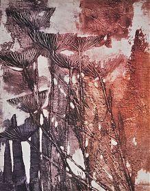 Rupert Rosenkranz (1908 Aichdorf/Österreich-1991 Hamburg) : SCHIERLING - Elektrographie, 1974 - https:// ankauf-grafik.de - Ankauf Graphik in München