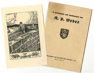 A. Paul Weber : 10 Holzschnitte und Zeichnungen (Hrsg. Fahrende Gesellen)